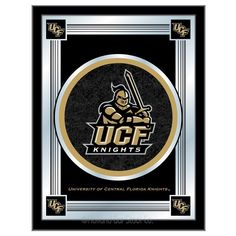 central florida knights logo mirror