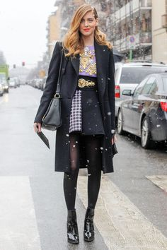 International It Girl 2014: Chiara Ferragni  Occupation: Blogger/Shoe Designer/Law School Student. Home Base: Milan  It Girl Credentials: Chiara is a street-style star for a reason. The cameras just can't get enough of her eclectic, Euro-cool, high-low style. The brands love this jet-setting fashionista toothe savvy marketer has collaborated with the likes of Louis Vuitton, Bottega Veneta, Zegna, and Mango on various projects, the ambitious blond branched out into design with her own Caia.