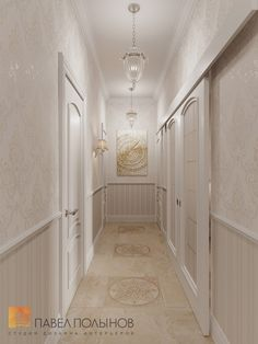 Фото: Коридор - Интерьер двухкомнатной квартиры в ЖК «Классика», 75 кв.м.