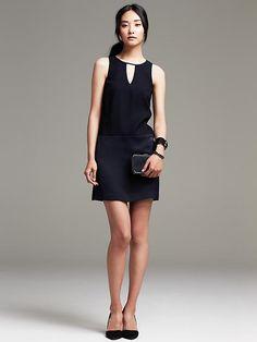 Crepe Swing Dress Product Image