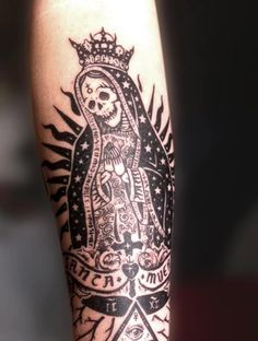Santa muerte- tattoo for gang member?