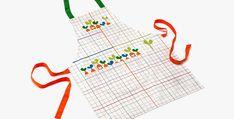 JME Kids Apron - Designed by Lucia Gaggiotti Apron Designs, Kids Apron, Graphic Design, Illustration, Food, Essen, Illustrations, Meals, Yemek