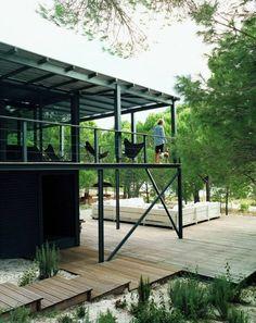 thierry lemaire architecte / la maison de l'architecte au portugal