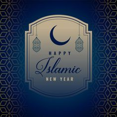 Islamic New Year Wallpaper Images 2020 For Muslims Islamic New Year Images, Islamic New Year Wishes, Happy Islamic New Year, Hijri New Year, Hijri Year, Banners, Happy Muharram, Event Poster Template, Holi Festival Of Colours