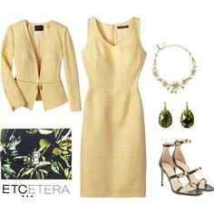 Etcetera | Spring 2016: DAYBREAK jacket and dress. www.etcetera.com.