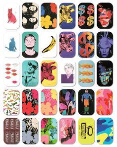 「アンディ・ウォーホル×のど飴」によるスタイリッシュな30種のアート缶が登場の写真1