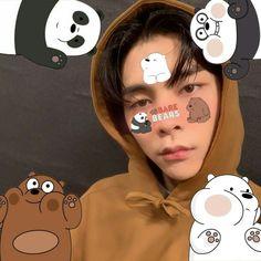 Cnblue, Block B, Kpop, Nct 127 Johnny, We Bare Bears, Taeyong, Boyfriend Material, K Idols, Jaehyun