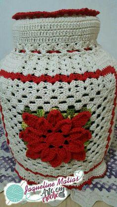 Mason Jar Cozy, Mason Jars, Macrame, Alphabet, Crochet Hats, Blanket, Knitting, Glamour, Kitchen Playsets