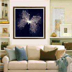 QZ013 5D DIY Diamond Painting Crystal Diamond Painting Cross Stitch Butterfly