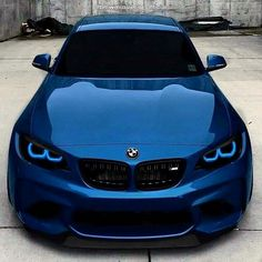 BMW - Luxury cars from Ferrari, Lamborghini, BMW, Mercedes, etc. Sports cars with incredible speed. Bmw Autos, Bmw M2, Carros Audi, Bmw Classic Cars, Car Colors, Expensive Cars, Bmw Cars, Sexy Cars, Amazing Cars