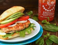 Got a Bumper Crop of Basil? Make Spicy Sriracha Salmon-Basil Burgers by Cooking On The Weekends