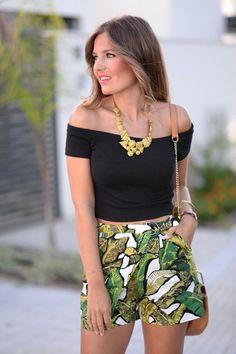 Estampado Tropical, super de moda éste verano. Visita el blog - Contenido seleccionado con la ayuda de http://r4s.to/r4s