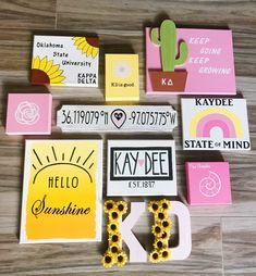 Big/Little Crafts OSU Kappa Delta sorority canvasYou can find Sorority crafts and more on our website.Big/Little Crafts OSU Kappa Delta sorority canvas Kappa Delta Canvas, Kappa Delta Crafts, Kappa Delta Sorority, Sorority Crafts, Phi Mu Canvas, Phi Mu Crafts, Sorority Paddles, Sorority Recruitment, Big Little Canvas