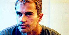 Theo James, Those Eyebrows