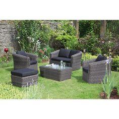 """Lounge-Gruppe """"PORTO"""" - Ihr Online Shop für exklusive Gartenmöbel - #Garten #Moebel"""