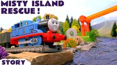 Thomas and Friends Toy Trains Misty Island Rescue Adventures Zip-Line - ...