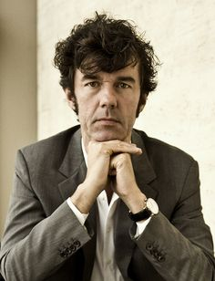 "Stefan Sagmeister  ""Thinking that life will be better in the future is stupid. I have to live now""."