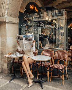 Parisian Mornings travel relax take a break Happy enjoy hiking free time country see the world hotel comfort destinations Parisian Girl, Parisian Cafe, Parisian Style, Parisian Breakfast, Les Petits Frenchies, Belle Villa, Travel Aesthetic, Aesthetic Outfit, Beige Aesthetic