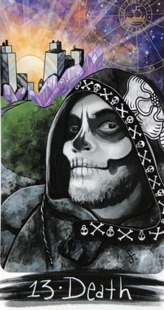 Card of the Day – Death – Saturday, February 27, 2021 – Tarot by Cecelia