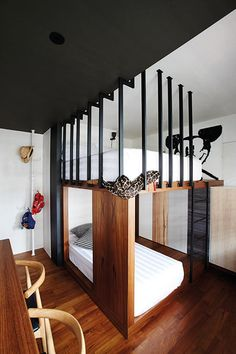 Double decker bed singapore google search interior for Room design double deck