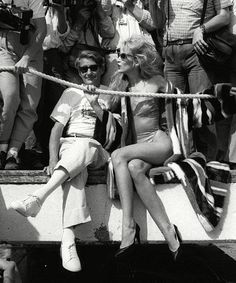 Helmut Newton and Jerry Hall at the Cannes film festival in snapped by David Bailey. Helmut Newton, Berlin, Jerry Hall, Eva Herzigova, David Bailey, Another Love, Male Magazine, Sophia Loren, Brigitte Bardot