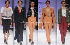 Andrgyny love! Bodice by Ruchika Sachdeva for Lakme Fashion Week-Winter-Festive 2012