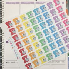 D12 Kitchen Aid Stand Mixer Baking Stickers - Set of 56 from The Sassy Planner