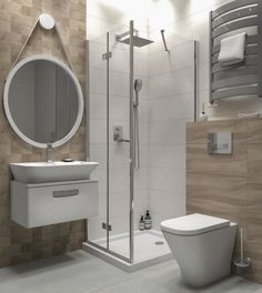 Small Bathroom Layout, Modern Bathroom Decor, Bathroom Interior Design, Room Ideas Bedroom, Laundry In Bathroom, Shower Rooms, House, Home Decor, Washroom