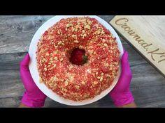 Strawberry Bunt Cake, Strawberry Shortcake Ice Cream, Strawberry Topping, Bunt Cakes, Cupcake Cakes, Cupcakes, Chocolate Crunch, Chocolate Cake, Tasty Kitchen