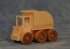 Wooden Toy Dump Truck