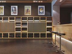 Wine store   Interior
