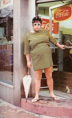 Divine as Dawn Davenport in Female Trouble directed by John Waters, 1974 as Dawn Davenport