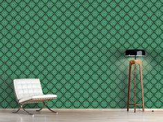 Design #Tapete Blätterhypnose Self Adhesive Wallpaper, Asia, Wall Papers