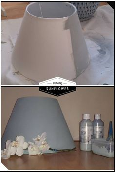 Je oude kapjes niet leuk meer, of kan je de juiste kleur niet vinden?? schilder ze in de kleur die zelf wilt met decoratie verf. Lampshade Redo, Diy Furniture Decor, Plaster Art, Lamp Shades, Diy Projects To Try, Hobbies And Crafts, Home Deco, Home Crafts, Art Decor