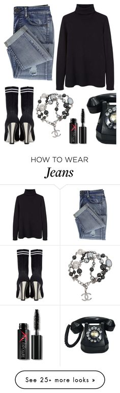 """""""Give me a RING!"""" by schenonek on Polyvore featuring MANGO, Fendi, Chanel and Smashbox"""