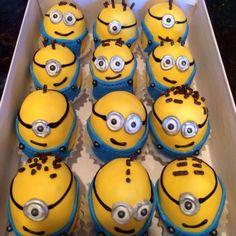 Minion Cake Balls