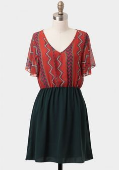 Canyon's Edge Printed Dress | Modern Vintage Dresses | Modern Vintage Clothing
