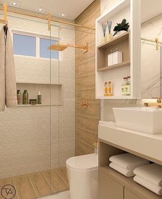 Design, inspiration, and DIY ideas for remodeling your bathroom on a budget. Awesome DIY home projects, inspiration for your home, and cheap ideas that are remodeling your bathroom. Modern Boho Bathroom, Minimal Bathroom, Bathroom Design Luxury, Bathroom Layout, Modern Bathroom Design, Home Interior Design, Small Bathroom, Master Bathroom, Bathroom Ideas