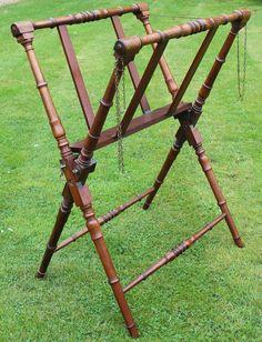 19th Century Mahogany Adjustable Portfolio Stand in Antiques, Antique Furniture, Stands | eBay!