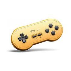 8BitDo SN30 GP Bluetooth Gamepad - Gelb Bluetooth, Game Controller, Console, Electronics, Cool Stuff, Games, Glass Ball, Gaming, Roman Consul