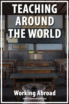 Working Abroad – Teaching Around the World