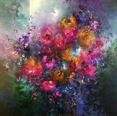 """""""Splendour"""" Acrylic on canvas, 80x80 cm"""