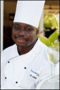 Chef Hodge of Bayhouse Restaurant    Read more---> http://www.twhantigua.com/meetchefleroyhodge/
