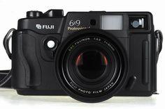 Fuji GW690III 6x9cm medium format rangefinder camera. HUGE negative, large camera, stunning quality.