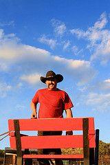 Cowboy by Jeanie Sorrells Beach - M Diamond Ranch - Sedona