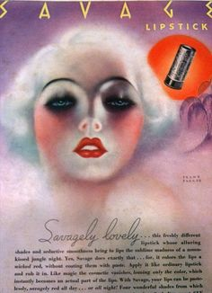 vintage lipstick ads - Yahoo Image Search Results