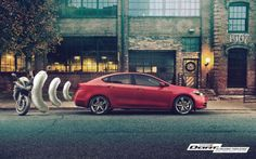 Print advertisement created by Publicis, Canada for Dodge, within the category: Automotive. Ads Creative, Creative Advertising, Ad Of The World, Printed Balloons, Dodge Dart, Ad Art, Photo Retouching, Advertising Poster, Car Insurance