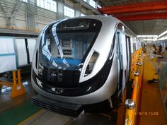 Rio #metro train on test in China #CNR #ailway