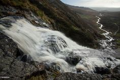 Mahon Falls waterfall, in the Comeragh Mountains. County Waterford, Munster, Republic of Ireland.