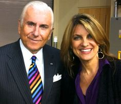 Legendary entrepreneur, author and President of High Point University, Nido Qubein with Christine Kane in Asheville, NC.